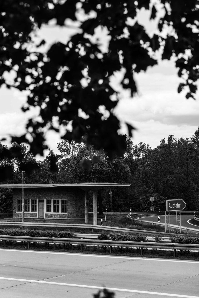 Die Reichsautobahn-Tankstelle Fürstenwalde von Friedrich Tamms, eröffnet 1937