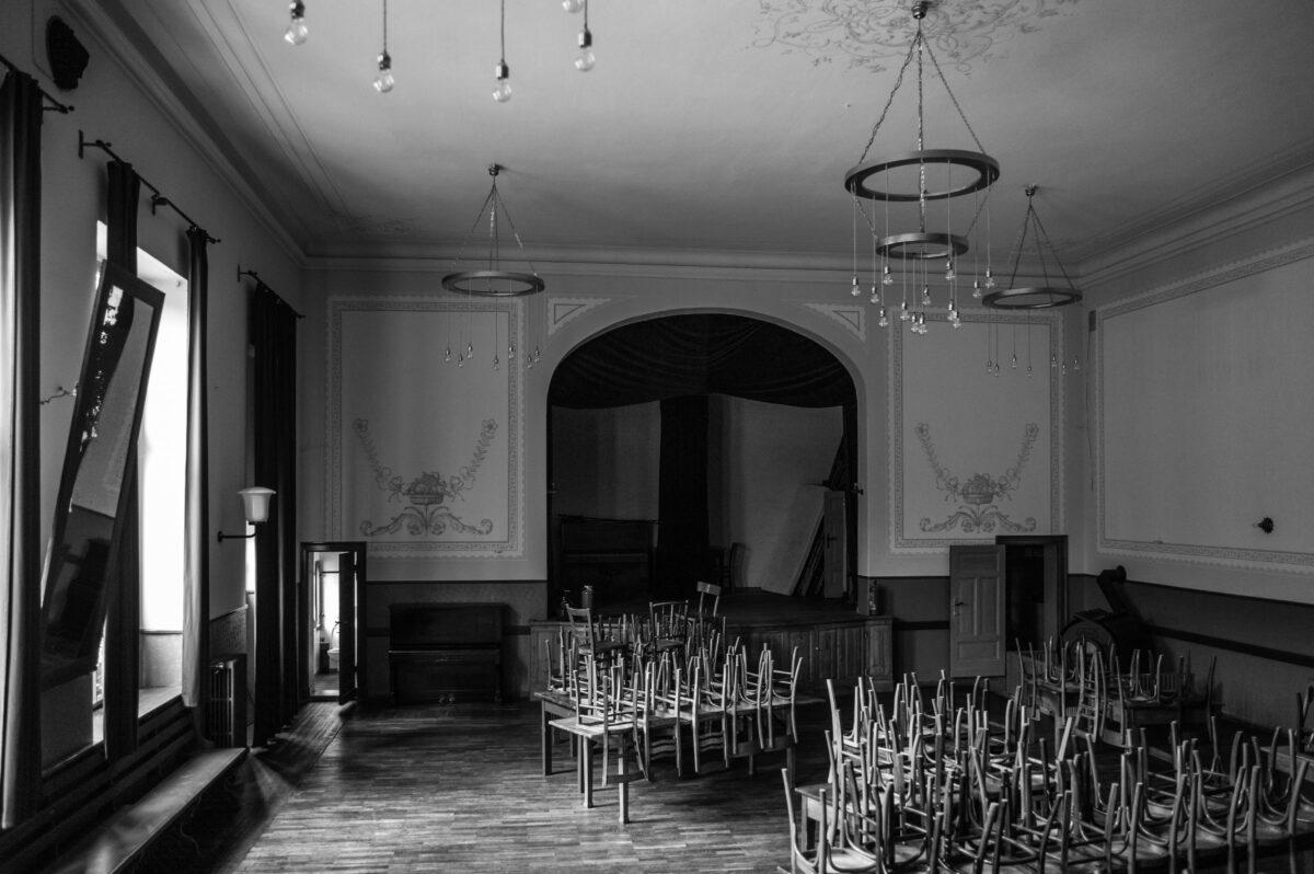 Der Saal in der Kajüte Ratzdorf