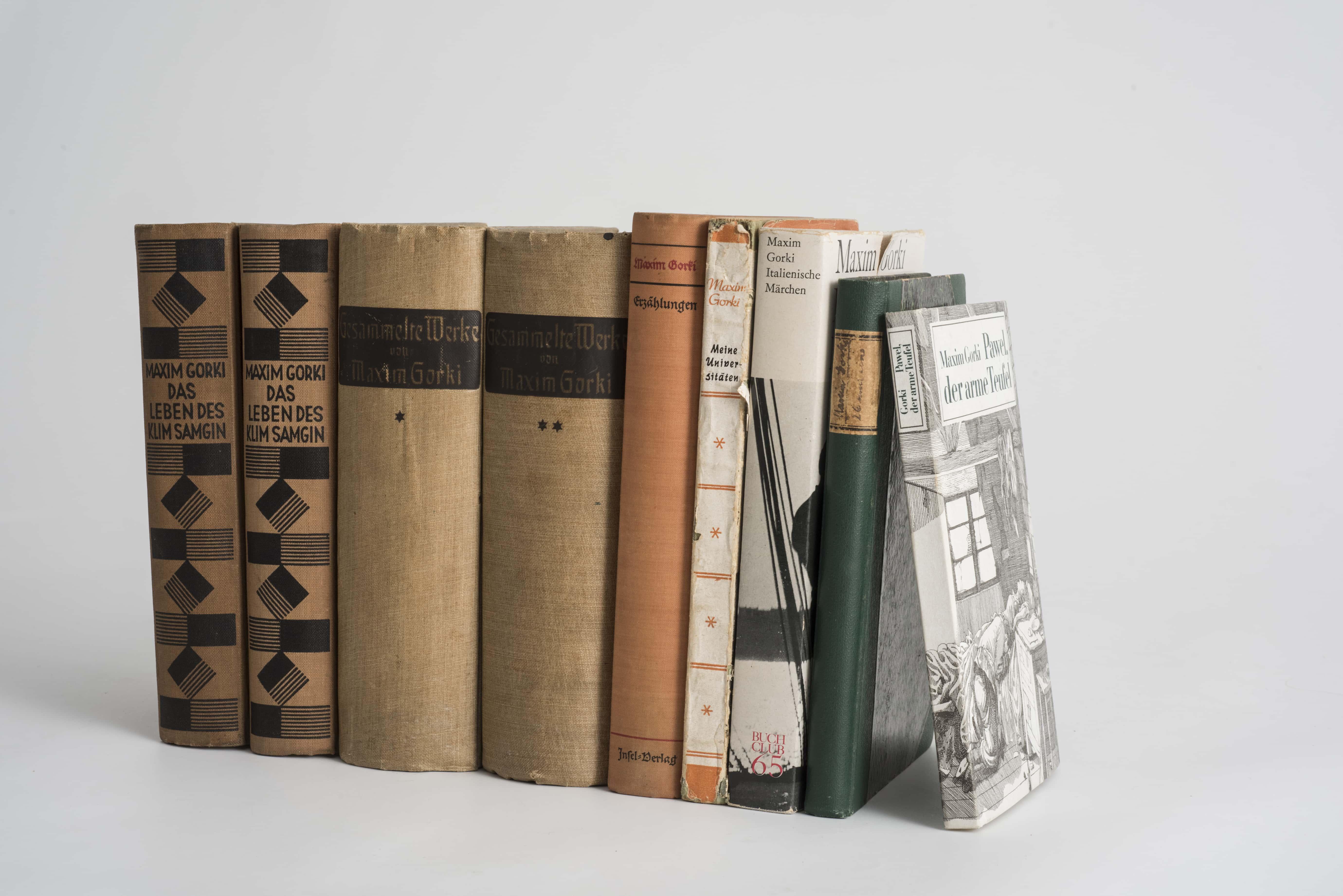 Deutsche Ausgaben von Gorkis Werken