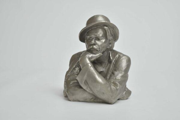 Büste des Schriftstellers, Dichters und Dramatikers Maxim Gorki