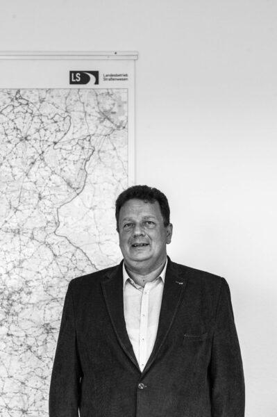 Andreas Schade vom Landesbetrieb Straßenwesen Region Ost