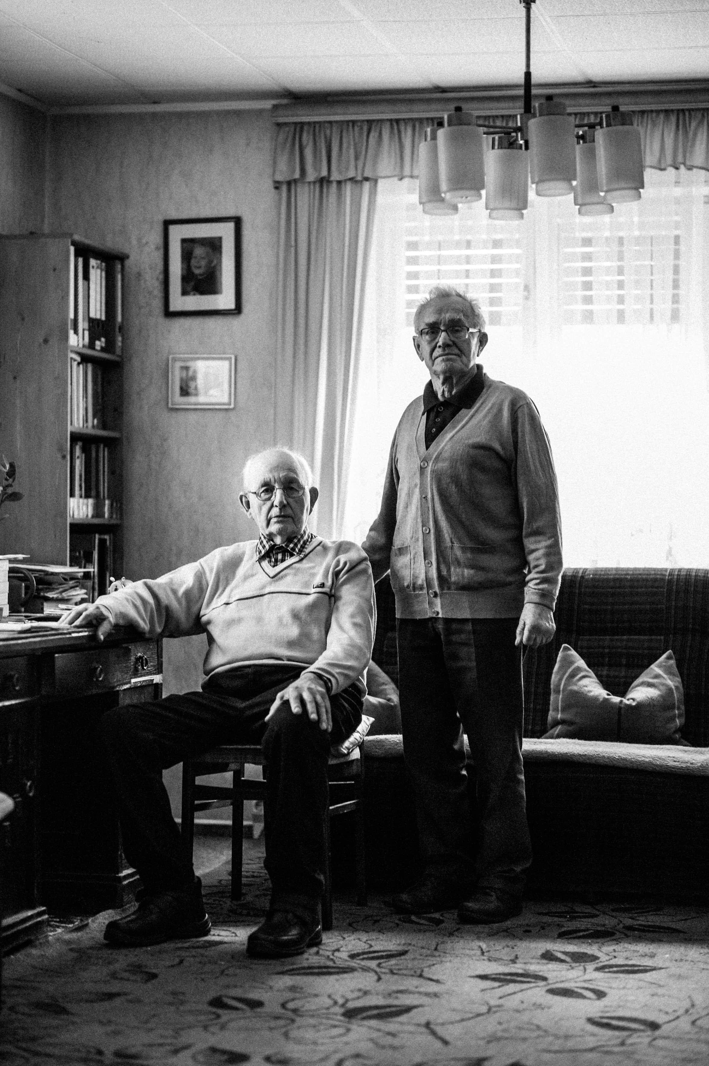 Werner (l.) und Rudie Helm haben die Geburtsstunde der LPG «Fortschritt» miterlebt.