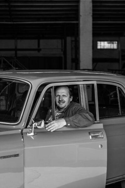 Autoschrauber aus Leidenschaft: Andreas Kunath in seinem «Mossi»