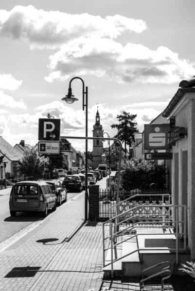 Ehemalige Sparkassenfiliale in Neu Zittau