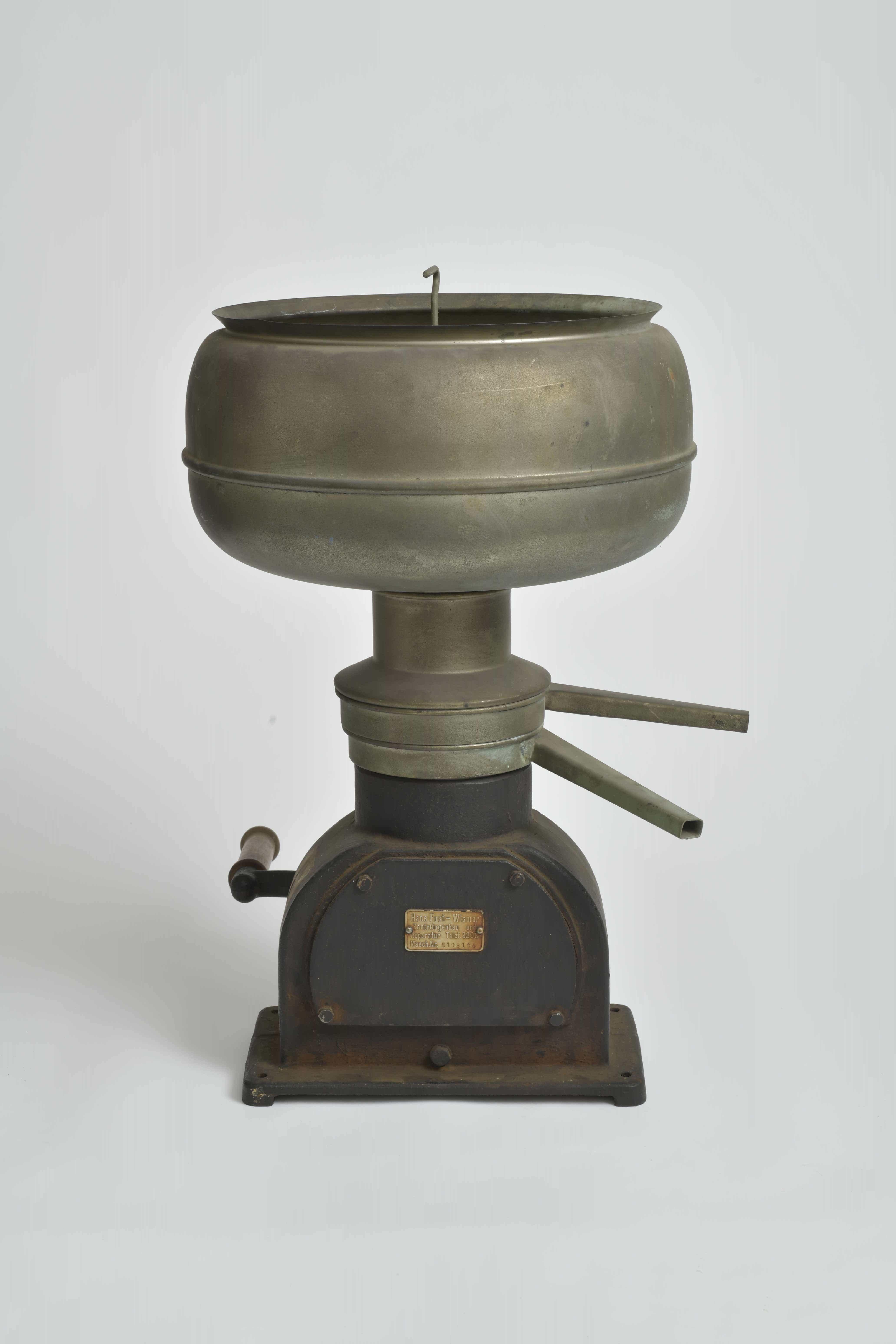 Milchzentrifuge aus den 1920er-Jahren