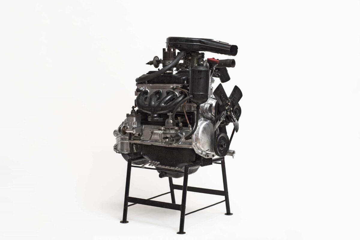Motor eines Moskwitsch-408
