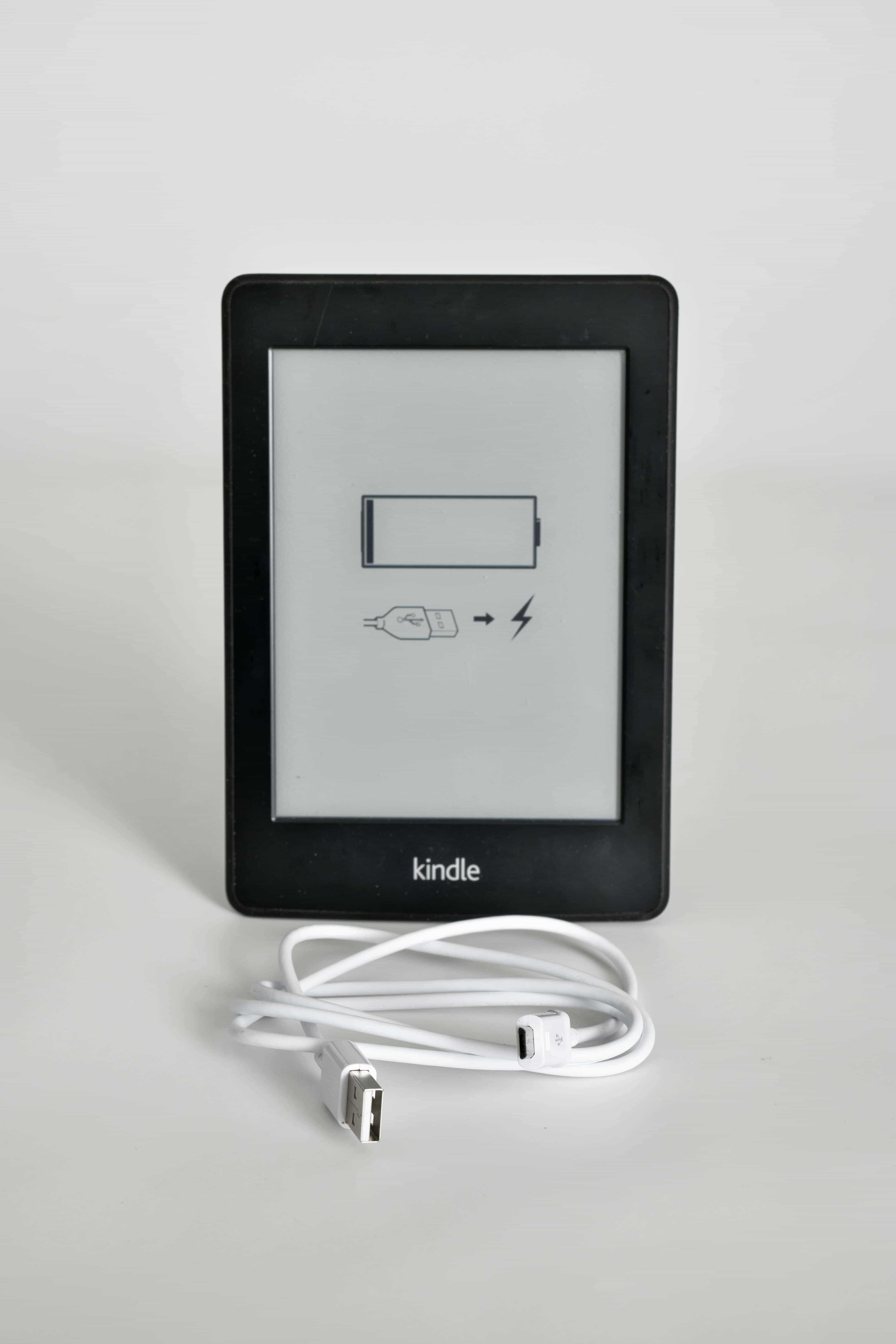 ebook Reader vom Typ Amazon Kindle