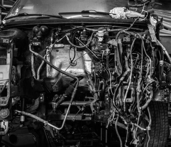 Auto in der Werkstatt